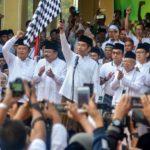 Presiden Jokowi Lepas Jalan Sehat Sahabat Santri