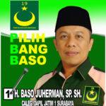Maju Jadi Caleg DPRD Jatim, Baso Juherman Siap Dukung Usaha Kaum Muda