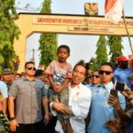 Jokowi Kunjungi Lokasi Pembangunan PLBN Sota