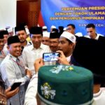 Silaturahmi Dengan Ulama, Jokowi Bahas RUU Pesantren