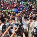 Perkuat Soliditas Dukungan,KH. Ma'ruf Amin Safari Politik di Jawa Barat