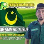 Ini Alasan Muhammad Yusuf Maju Jadi Caleg DPRD Kota Surabaya dari PBB