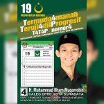 Walau Termuda Sebagai Caleg, Muhammad Ilham Muqorrobin Punya Program yang Inovatif