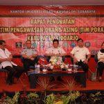 "Kanim Surabaya Gelar Rapat Penguatan TIMPORA, Kadiv Imigrasi Tanamkan Semangat ""Whole of Government"""