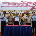 Deklarasikan Pembangunan ZI Menuju WBK, Imigrasi Surabaya Dapat Apresiasi dari Ombudsman