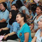 Vanessa Angel Ikut Sosialisasi Cara Cegah Kanker Serviks di Rutan Perempuan Surabaya