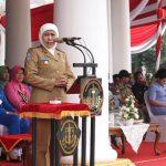 Gubernur Khofifah Harap Latsitardanus ke 40 Kembali Dilaksanakan di Jatim