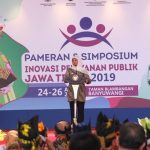 Gubernur Khofifah Buka Pameran Inovasi Pelayanan Publik Jatim Tahun 2019