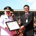 Pemprov Jatim Raih Penghargaan LKPPD Terbaik Se-Indonesia