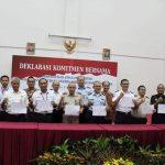 Siap WBK, Imigrasi Surabaya Deklarasi Komitmen Bersama Pembangunan Zona Integritas Bandara Juanda