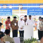 Gubernur Khofifah Dampingi Presiden Resmikan Tol Pandaan-Malang