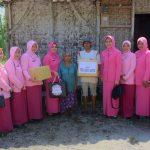 Bhayangkari Cabang Blitar Salurkan Bantuan Untuk Warga Kurang Mampu