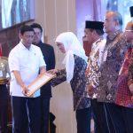 Jatim Raih Penghargaan Provinsi Terbaik Timdu Penanganan Konflik Sosial Tahun 2019