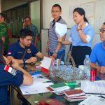 Pengawasan Orang Asing Jelang Idul Fitri, Timpora Kanim Surabaya Gelar Operasi