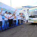 Pelindo III Lepas 4000 Pemudik Dengan Bus Gratis Ke Berbagai Tujuan Di Jatim