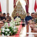 Jokowi Minta Saran KADIN dan HIPMI untuk Perbaikan Ekonomi